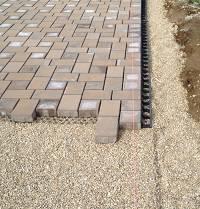 permeable paver edge restraint